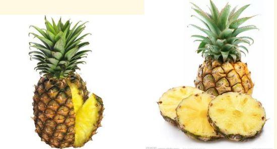 用菠萝做水果拼盘图 纸菠萝的折法步骤图