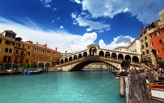 水是威尼斯的特色