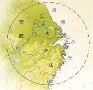 长江下游地区饮食文化圈