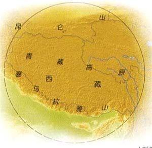 青藏高原地区饮食文化圈