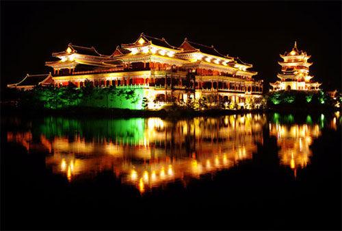 方壶胜境夜景