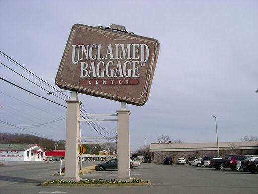 无人认领行李中心