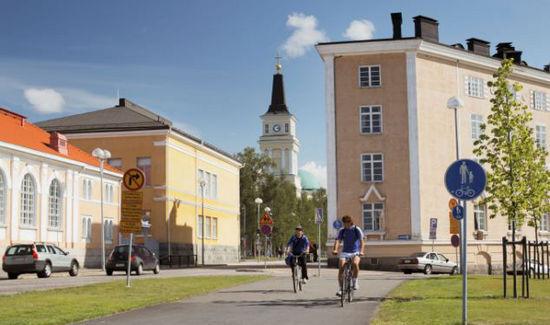 芬兰的奥卢市