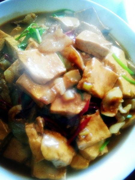 【热菜——红烧豆腐】