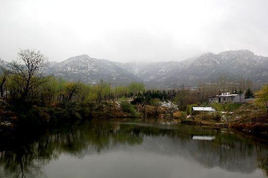 小珠山雪后美景如仙境