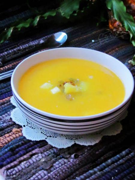 韩式菠萝南瓜粥