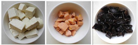 木耳豆腐羹