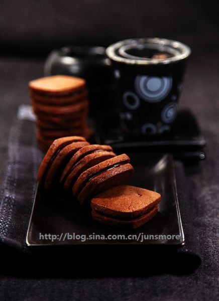 巧克力夹心饼干