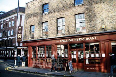 Spitalfields周围的餐厅很多,传统英国餐厅更可以试试看