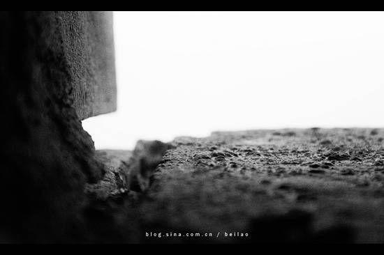 古城墙的瞭望孔