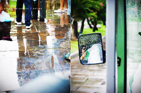 赏雨,观楼台