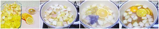 菠萝水果茶