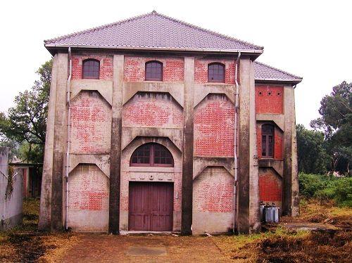 送出唧筒室的主体建筑