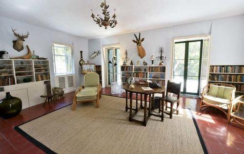 海明威的书房