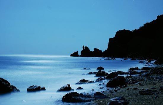 宁静的长岛