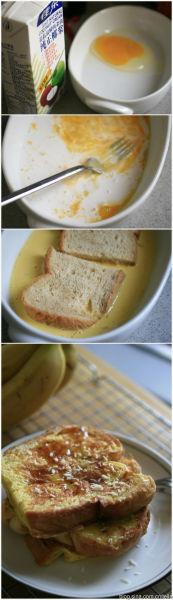 椰香法式煎吐司