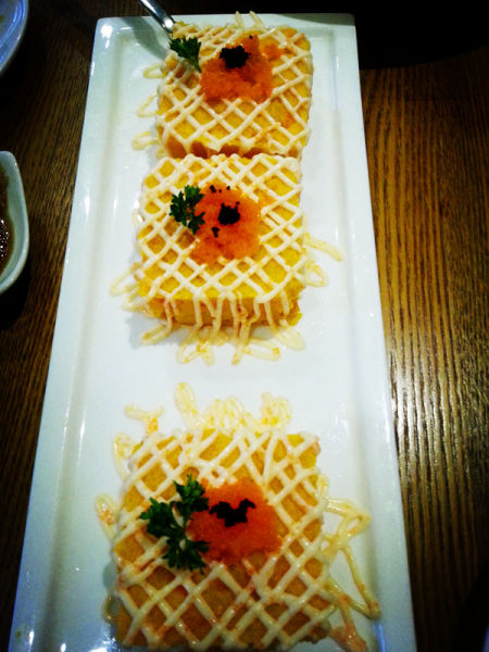 凉菜-南瓜鱼籽沙拉