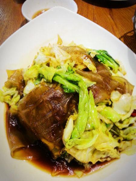 热菜-酸包菜炒粉皮