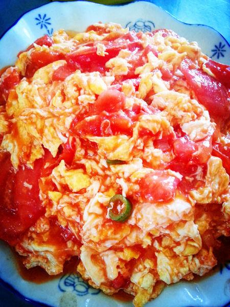热菜-番茄炒蛋