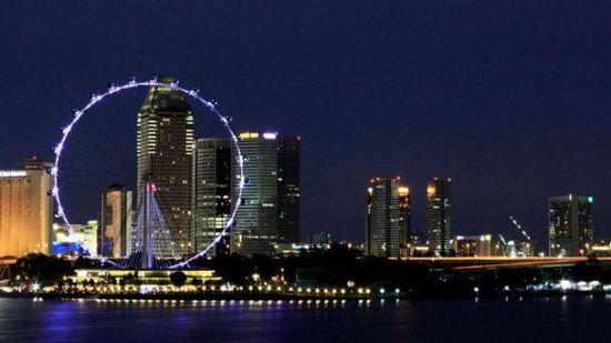 新加坡的摩天观景轮