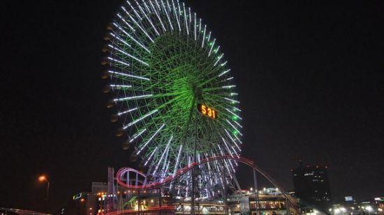 日本的宇宙时钟21摩天轮