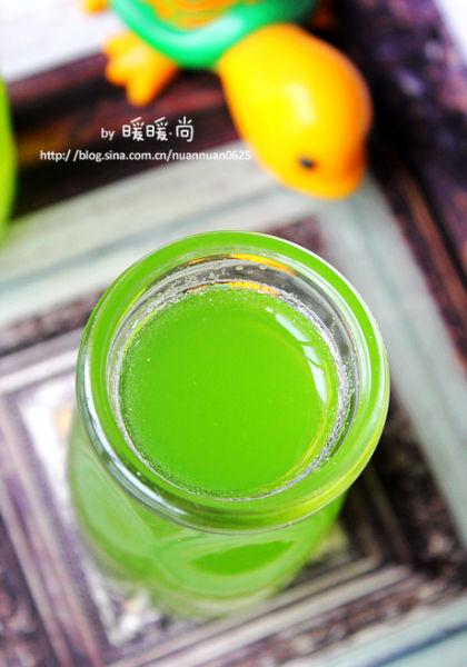 蜂蜜苦瓜黄瓜汁