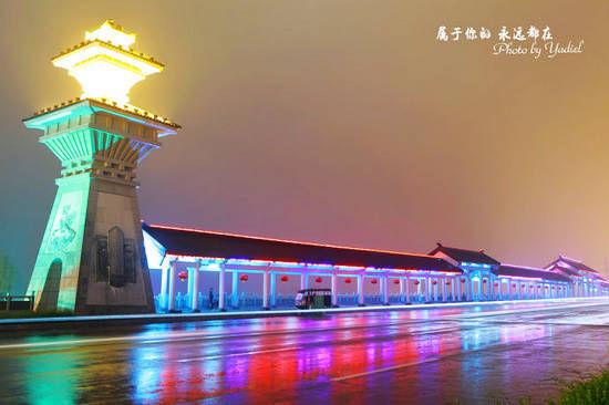 大成桥是连接曲阜古城区与新区的重要桥梁