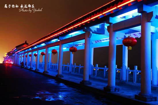 大成桥横跨大沂河两岸
