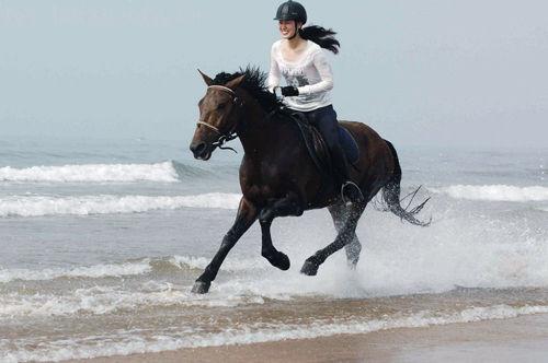 凤凰山骑马