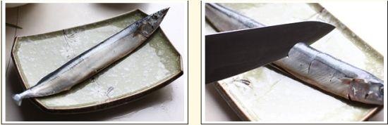 日式美味烤秋刀鱼经典再现 茴香烤秋刀鱼