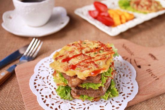 土豆饼小汉堡