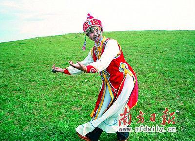 蒙古族美女