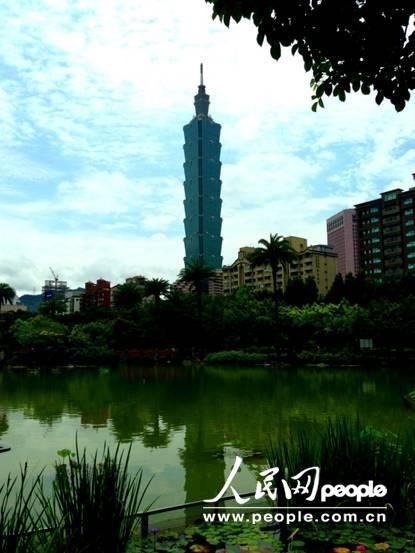台北101大楼(摄影:厉姣)