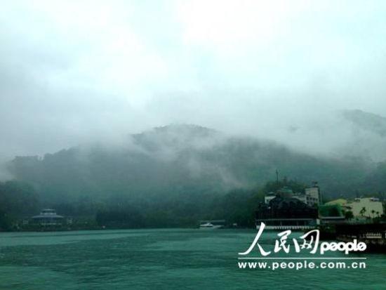 小雨中的日月潭(摄影:厉姣)