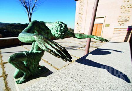 陈列于格列柯博物馆的雕塑