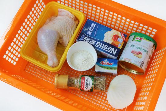 法式白汁烩鸡
