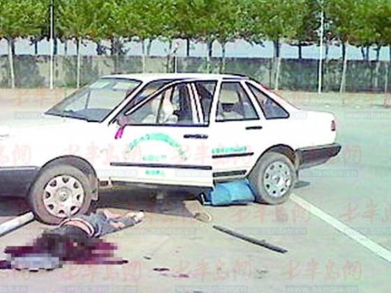 准新娘学车被轧死