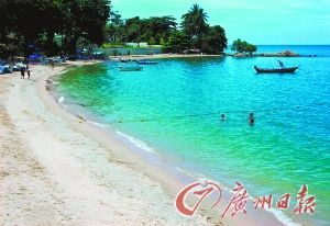 芭提雅的迷人海滩