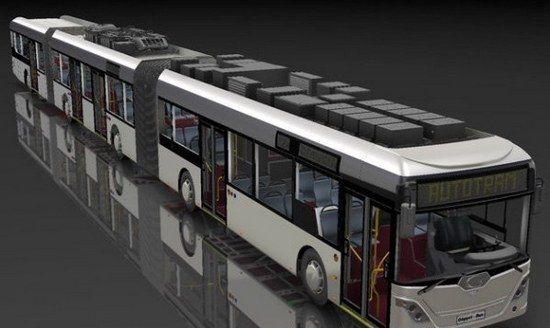 世界上最长的公共汽车