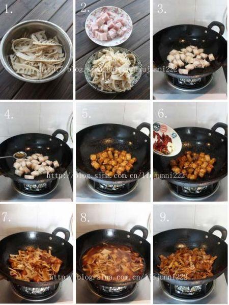 笋干烧五花肉