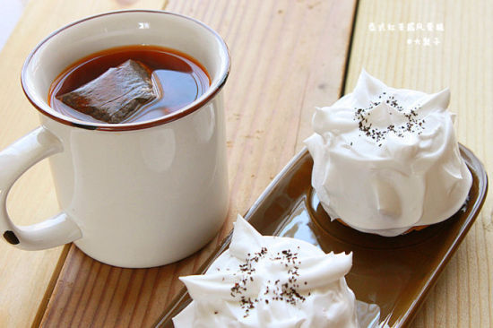 南洋风情的午后茶点心