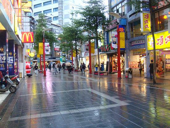 台湾逛街景