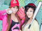 台湾棒球妹清新写真