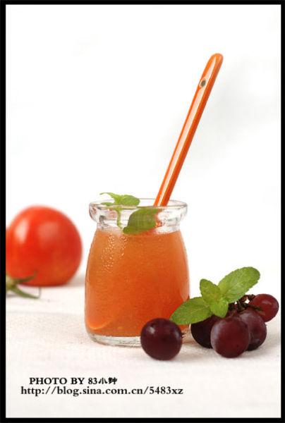 番茄银耳露