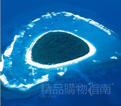 来到斐济,情侣们都会来心形岛。