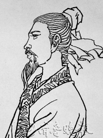 李之仪画像。