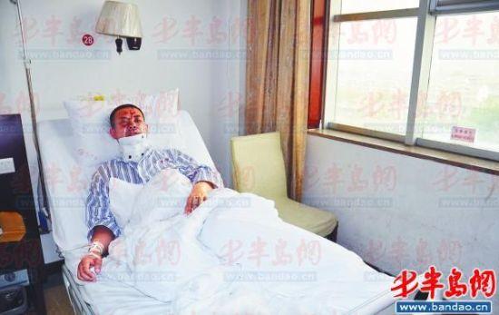 张清正仍在医院接受治疗。