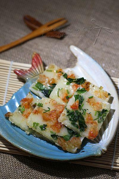 香煎虾米肠