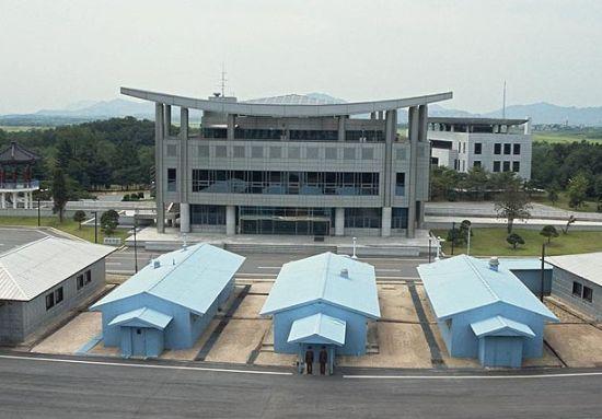 朝韩边境大楼