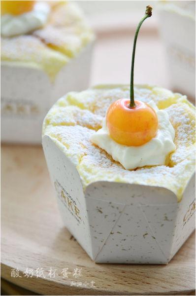 无油酸奶纸杯蛋糕